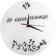 Необычные часы на present gift